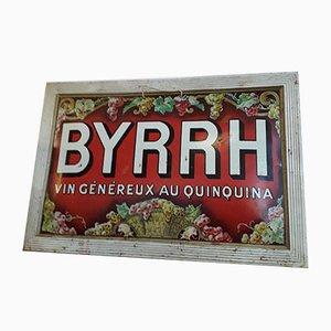 Mid-Century Werbe-Teller von Byrrh