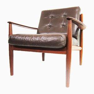 Modell 118 Teak Sessel von Grete Jalk für France & Søn / France & Daverkosen, 1960er