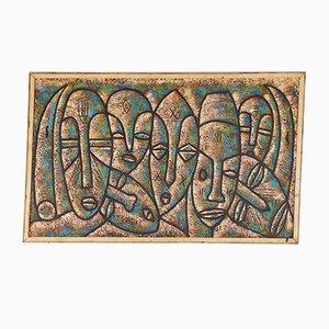 Gemälde von African Masks, 1970er