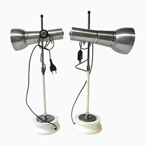 Italian Table Lamps, 1960s, Set of 2