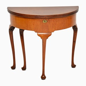 Antique Georgian Mahogany Console Table