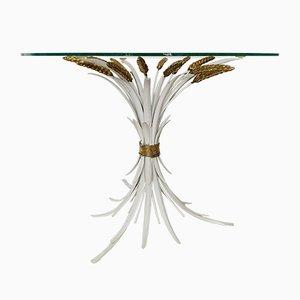 Weiße Mid-Century Weizenbündel Tischlampe