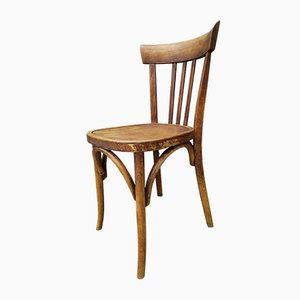 Bistro Dining Chairs from Fischel, 1920s, Set of 10