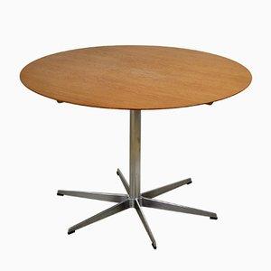 Table de Salle à Manger Modèle A826 Mid-Century par Arne Jacobsen pour Fritz Hansen, 1950s