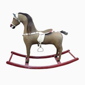 Mid-Century Art Deco Rocking Horse