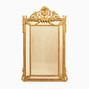 Antique Gilded Mirror
