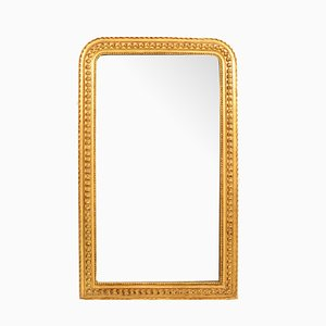 Antique Golden Leaf Mirror, 1800s