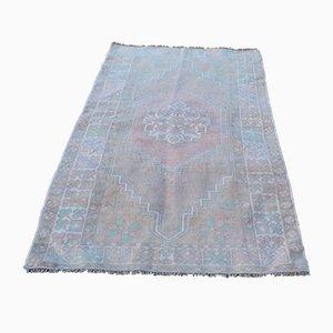 Vintage Handmade Woolen Tribal Carpet, 1970s