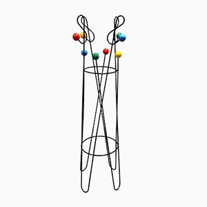 Model Cle de Sol Coat Stand by Roger Feraud, 1950s