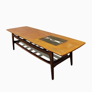 Table Basse Organique par Louis van Teeffelen pour WéBé, 1958