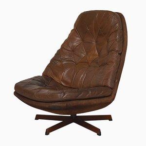MS68 Swivel and Tilt Chair by Madsen & Schübel, Denmark, 1960s