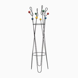 Ground Key Coat Rack by Roger Feraud, 1950s