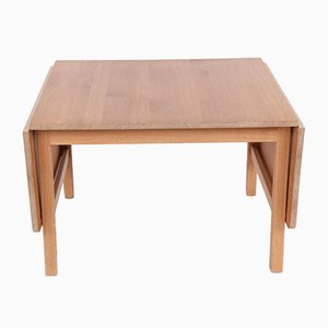 Vintage Danish Oak Coffee Table by Hans J. Wegner for PP Møbler