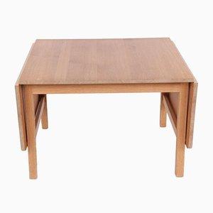 Vintage Danish Oak Coffee Table by Hans J. Wegner for PP Møbler