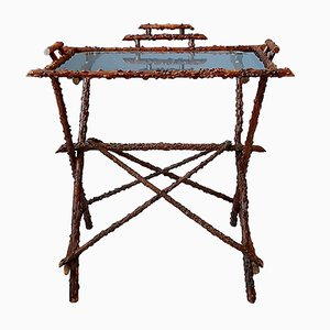 Antique Twig Side Table, 1900s