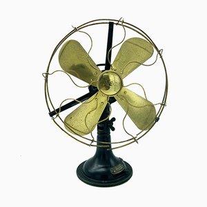 Antique Model NOVU2 Mechanical Fan by Peter Behrens for AEG, 1910s
