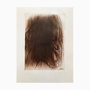 Großmutter Drypoint par Arnulf Rainer, 1968