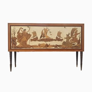 Vintage Sideboard by Paolo Buffa for Fratelli Anzani, 1940s