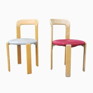 Dining Chairs by Bruno Rey for Dietiker, 1970s, Set of 2