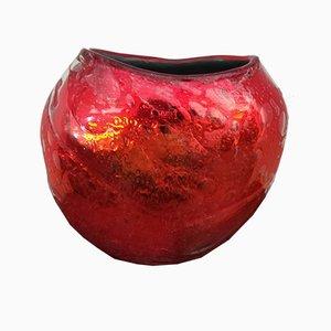 Rote Vase von Sergio Costantini