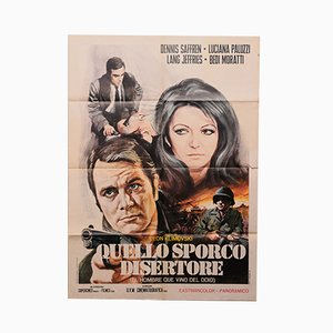 Quello Sporco Disertore Movie Poster, 1971