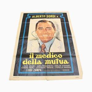 Il Medico Della Mutua Movie Poster, 1968