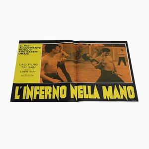 L'inferno Nella Mano Filmplakat, 1973