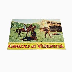 Grido Di Vendetta Filmplakat, 1960er