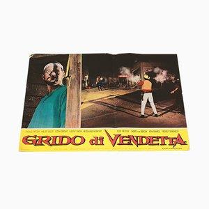 Grido Di Vendetta Film Poster, 1960s
