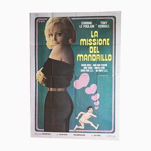 La Missione Del Mandrillo Poster, 1970er
