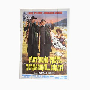 Partirona Preti Tornarono Curati Filmplakat, 1973