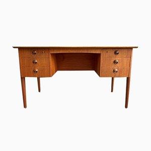 Danish Teak Desk by Kai Kristiansen, 1960s