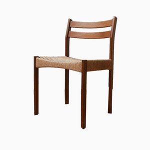 Mid-Century Danish Dining Chairs Attributed to Morgens Kold, 1960s, Set of 4