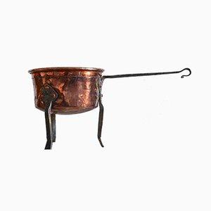 19th Century Swedish Handmade Copper Pots