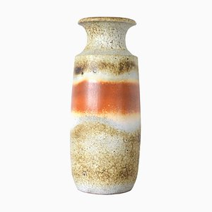 Mid-Century German Nr. 239-41 Fat Lava Floor Vase from Scheurich, 1950s