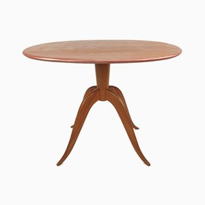 Table Basse Ovale, Italie, 1960s