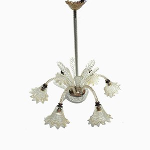 Chandelier by Ercole Barovier for Barovier & Toso, 1950s