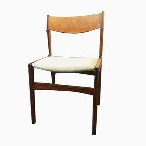 Ddanish Esszimmerstühle von Erik Buch für Oddense Maskinsnedkeri / OD Møbler, 1960er, 4er Set