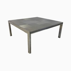 Steel Coffee Table by Ross Littell for ICF De Padova, 1970s