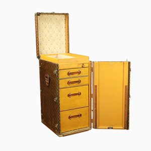 Linen Trunk by Louis Vuitton, 1920s