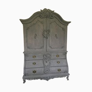 Baroque Oak Cabinet