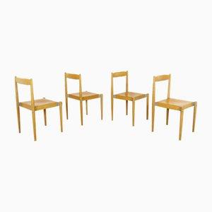 Esszimmerstühle von Miroslav Navratil, 1970er, 4er Set