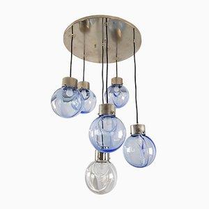Modell Membrane Deckenlampe von Toni Zuccheri für Venini, 1960er
