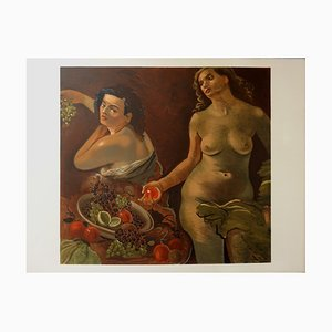 André Derain , Models Eating Fruit, Signed Lithograph