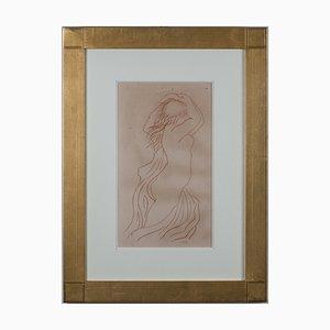 Aristide Maillol (d'après) , Femme, 1926 , Lithograph