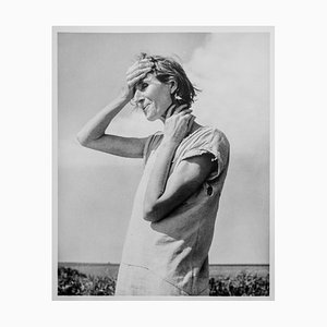 Dorothea LANGE - Woman of the High Plains, 1938, Silbergelatine Auflage in limitierter Auflage