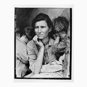 Dorothea LANGE - Migrant Mother, 1936 - Silver gelatine limited edition print