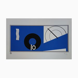 Eileen GRAY (after): Abstract composition - Signed screenprint