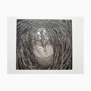 Hélène CSECH - Wakes - Original signed etching