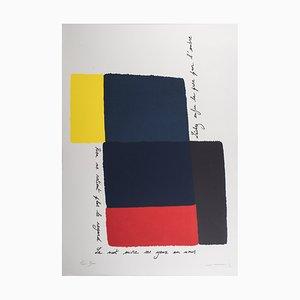 Michel Mousseau, Sans titre, Lithographie signée